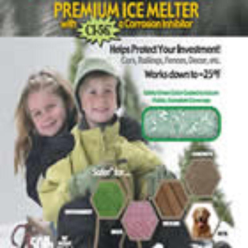 Safer than Salt with CI 56 Deicer by Kissner Salt