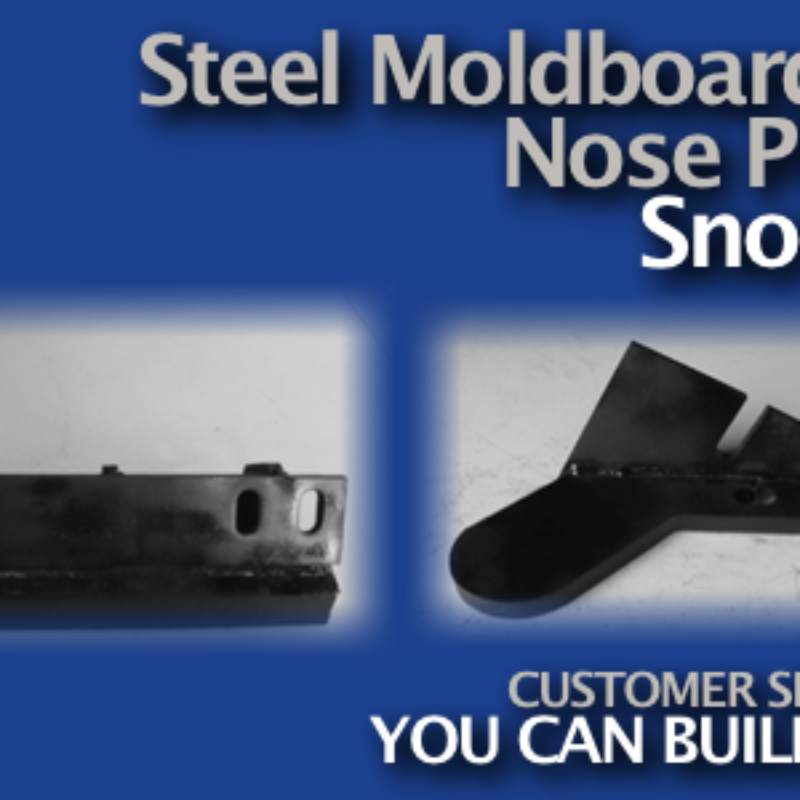 Steel Nosepieces for Snow Plows