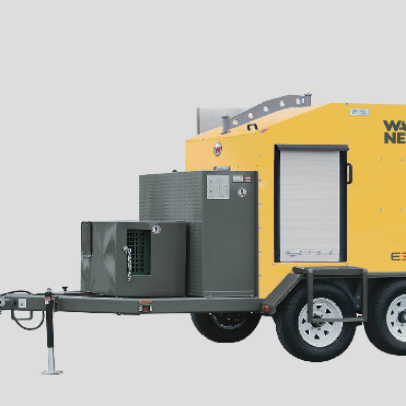 Ground Heater Rental - E3000 - by Wacker Neuson