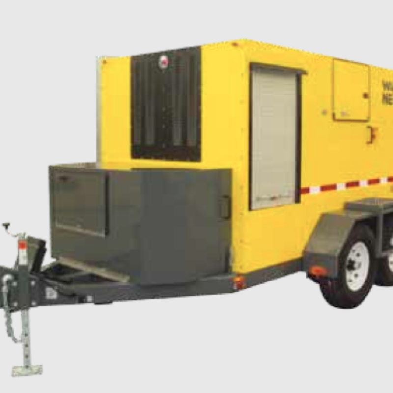 Ground Heater Rental - E5000 - by Wacker Neuson