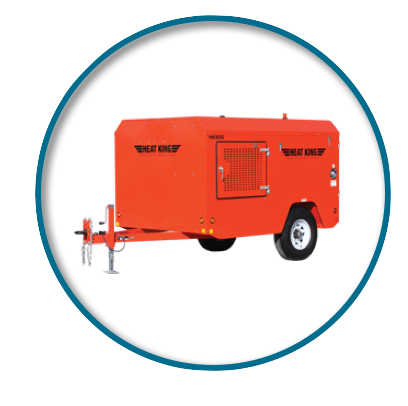 Picture of Ground Thawing Heater Rental
