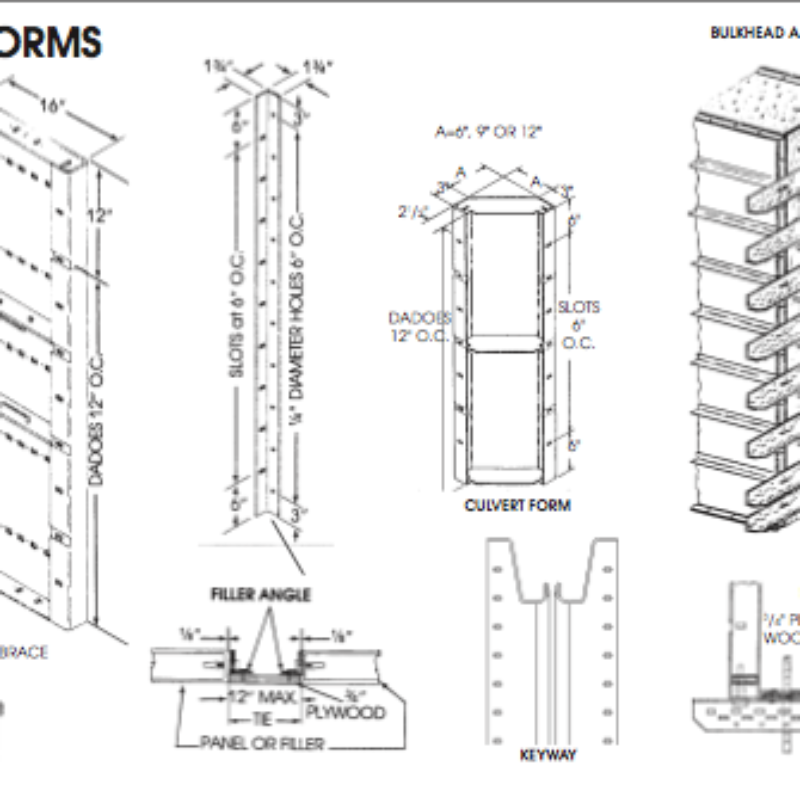 Specialty Concrete Forms - Symons Steel-Ply