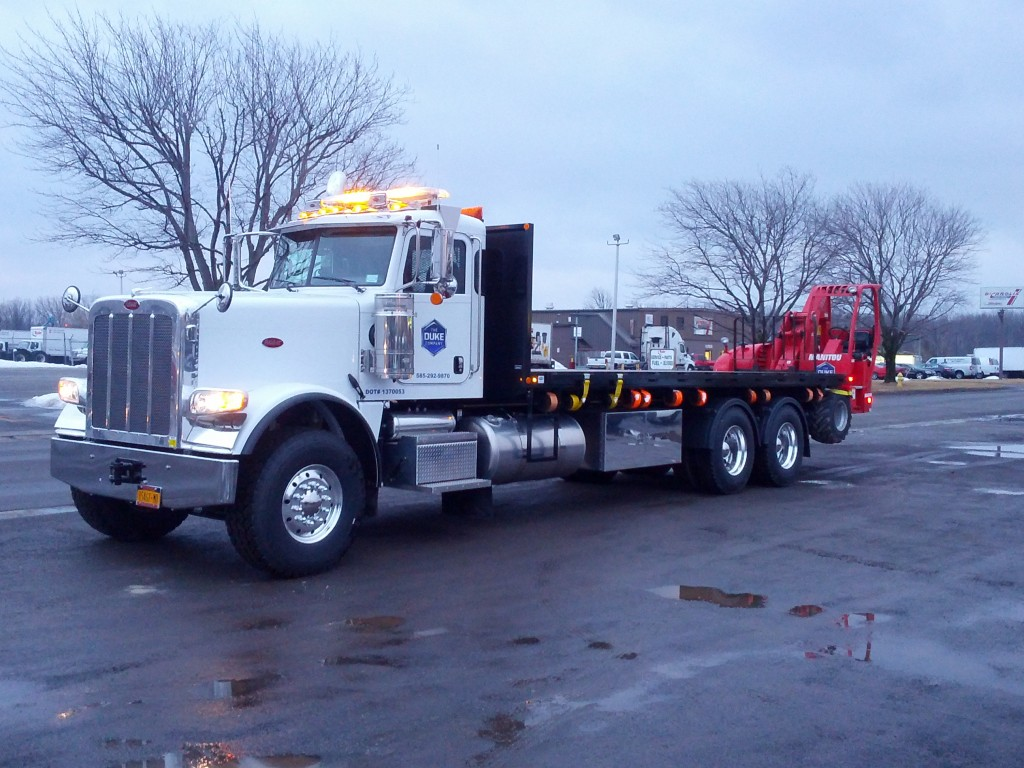 Picture of Duke Company Equipment Rental and Tool Rental Truck in Rochester NY