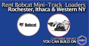 Picture of Rent Bobcat Mini-Track Loaders in Rochester and Ithaca NY