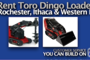 Picture of Rent Toro Dingo Loaders in Rochester NY and Ithaca NY