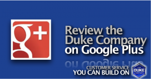 Picture of Write a Review of the Duke Company on Google Plus