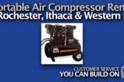 Picture of Portable Air Compressor Rental in Rochester NY and Ithaca NY
