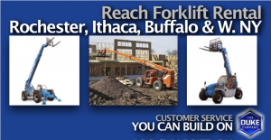 Picture of Reach Forklift Rental in Rochester NY and Ithaca NY