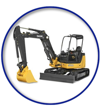 Mini Excavator Rental in Rochester NY