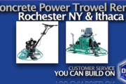 Picture of Concrete Power Trowel Rental in Rochester and Ithaca NY