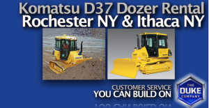 Picture of Equipment Rental Insights - Komatsu D37 Bulldozer