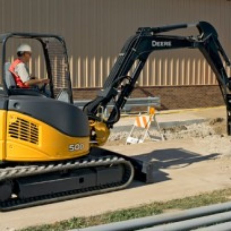 Excavator Rental -- The Duke Company