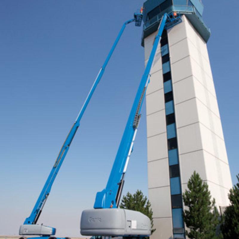 120 Foot Telescopic Boom Lift Rental - Genie S-120