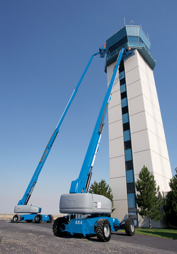 Picture of 120 Foot Telescopic Boom Lift Rental - Genie S-120