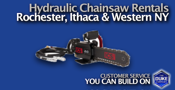 Rent Powerful Concrete Chainsaws in Rochester and Ithaca NY