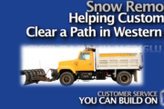 Snow Removal - Helping Customers Clear a Path in Western NY