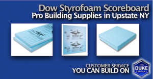 Dow Styrofoam Scoreboard and Building Supplies in Upstate NY