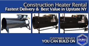 Heater Rental, Portable Heater Rental