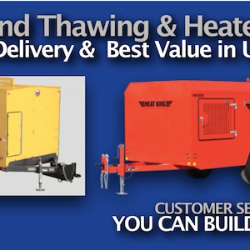 Heat King Rental Heaters & Wacker Neuson Rental Heaters | The Duke Company