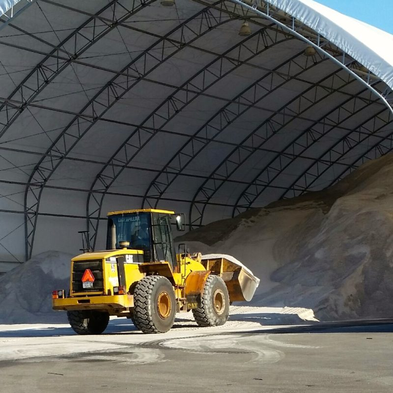 Rochester NY Road Salt and Deicer Barn Open Until 8 p.m. EST on January 30 2015