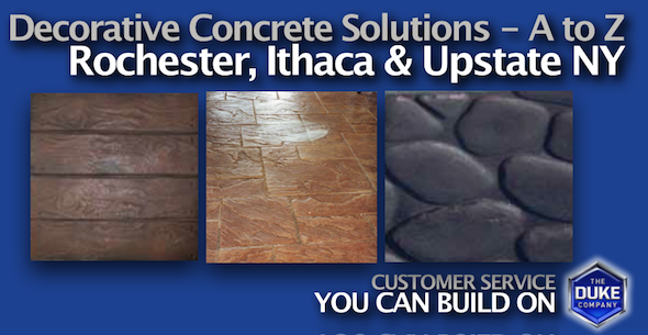 Decorative Concrete Solutions in Upstate NY