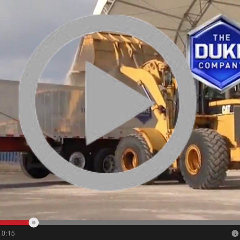 Video Highlights - Duke Company Rock Salt Distribution in Upstate NY