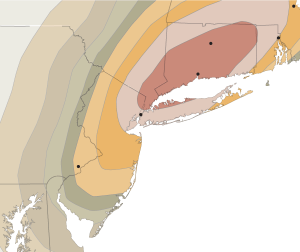 NY Times - A Big Snowfall in the Forecast