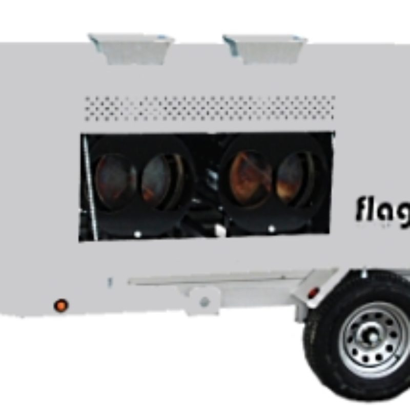 Flagro FVO 1000TR--Tent Heater and Trailer Rental