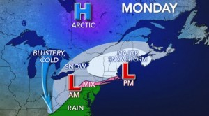 Major Winter Storms Impacts Entire Region With Periods of Snow and Bitter Cold