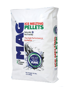 Dead Sea Mag Ice Melting Pellets and Deicer in NY from the Duke Company