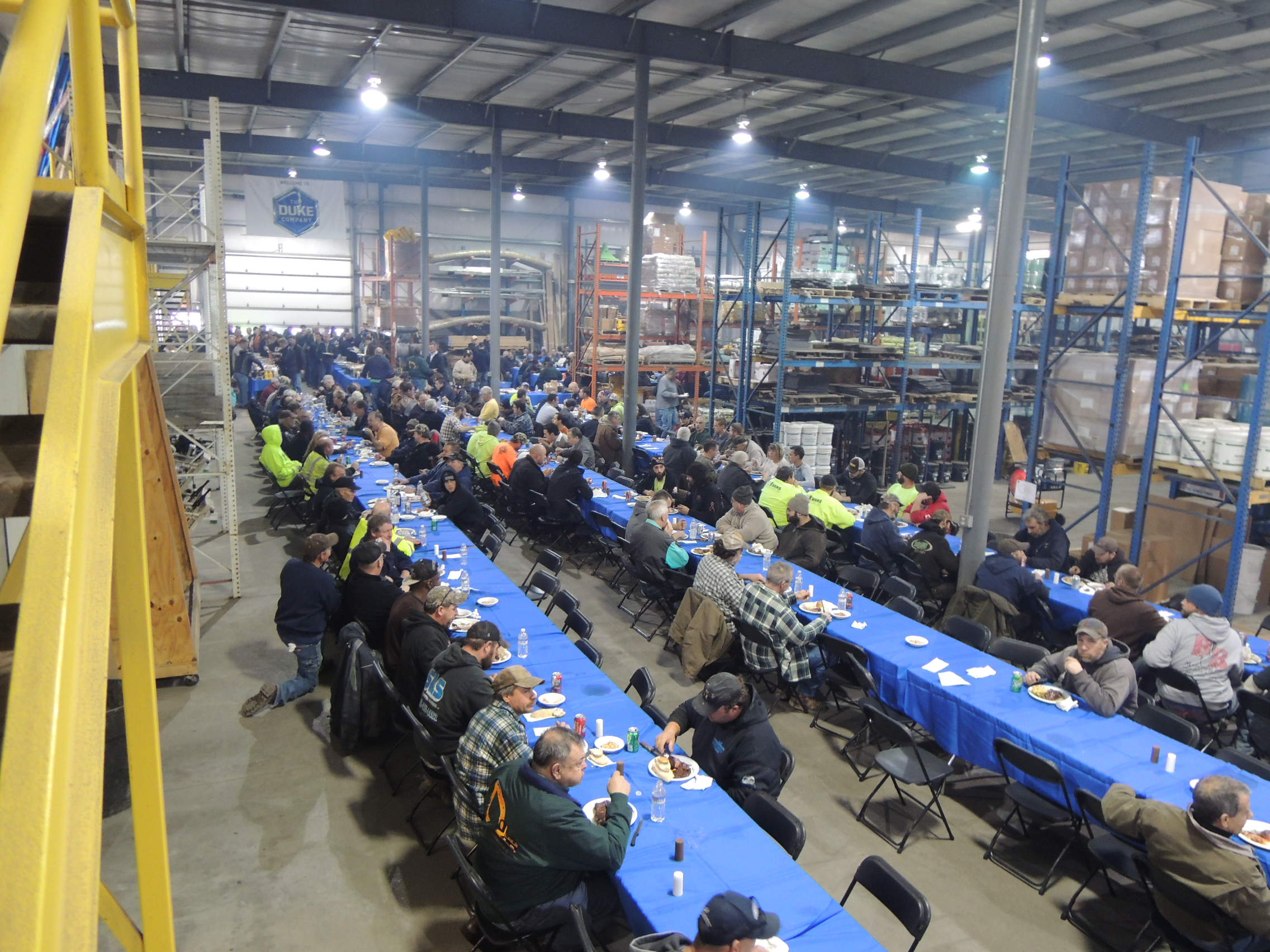 Duke  Company Customer Appreciation Lunchenon - 2015