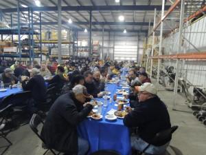 Duke Company Equipment Rental and Bulk Salt Customers at 2015 Customer Appreciation Luncheon