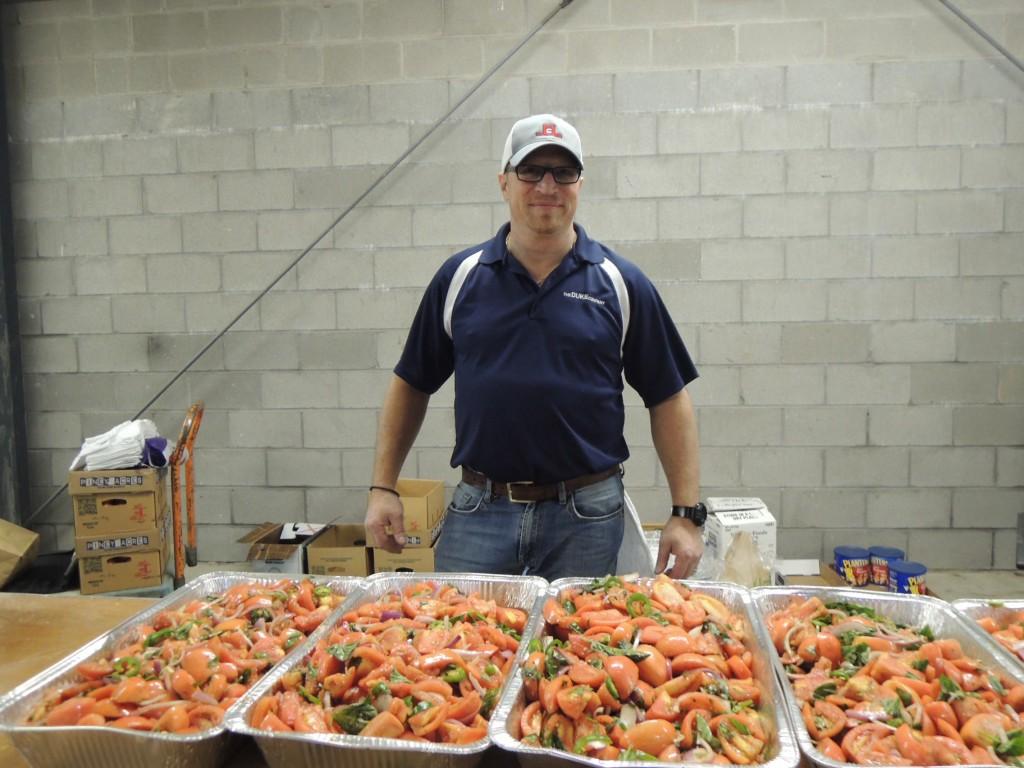 Luke Rotunno at Duke Equpment Rental Customer Appreciation in Rochester and Ithaca NY