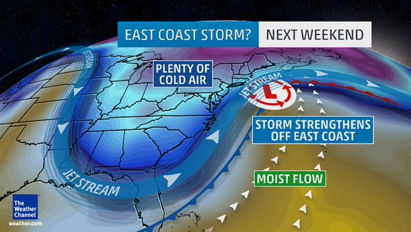 The Weather Channel Weather Map Ne Jan 22 23 2016 Equipment Rental