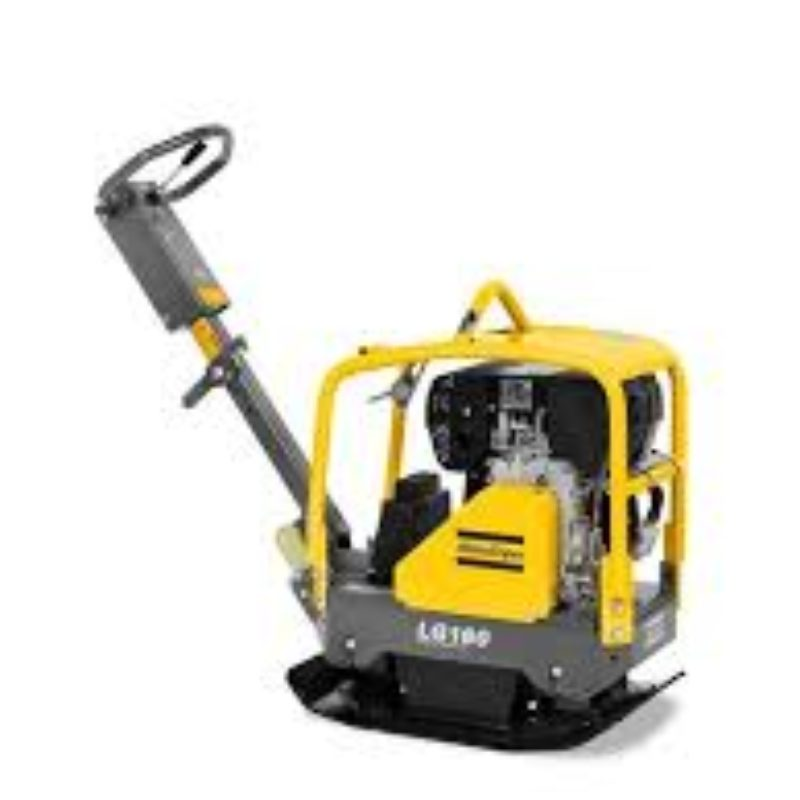 Plate Compactors, Forward Plates, Reversible Plates Atlas Copco LG160 – The Duke Company
