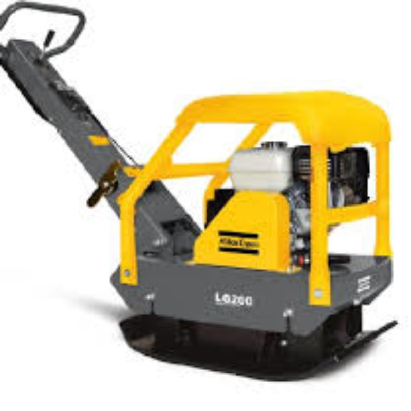 Atlas Copco LG200 Forward Reversible Plate Compactor – The Duke Company