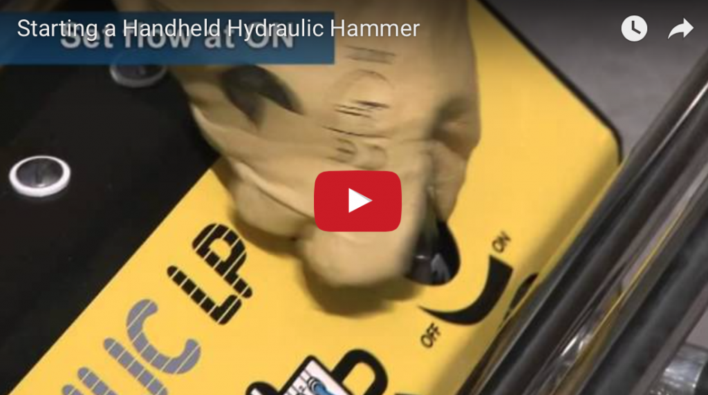 Video – How to Start a Handheld Hydraulic Hammer
