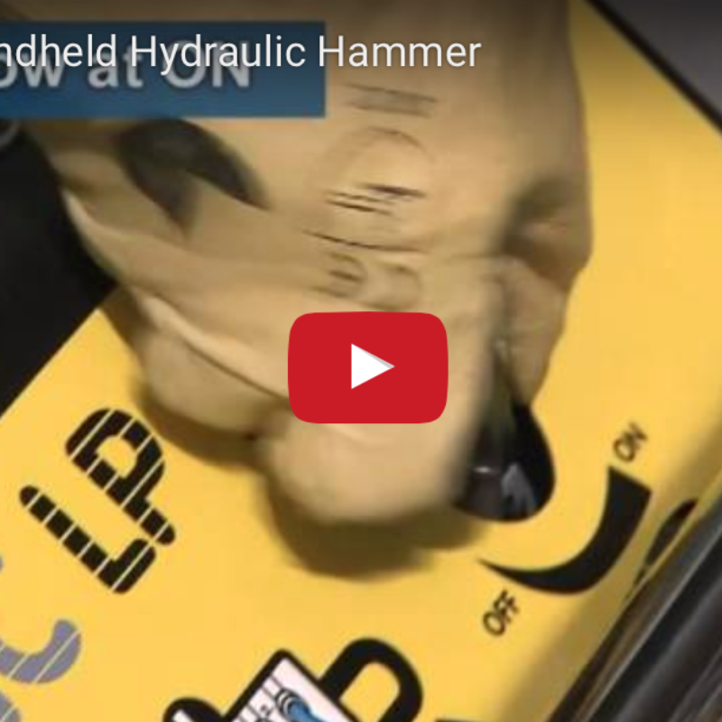 Video - How to Start a Handheld Hydraulic Hammer