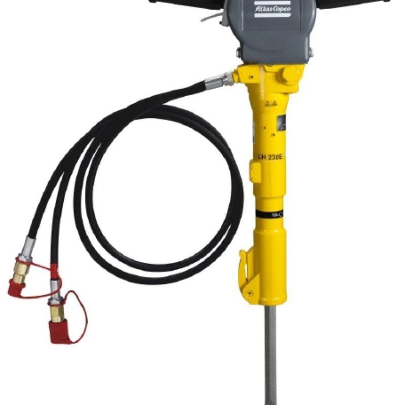 Atlas Copco LH 400 E Handheld Hydraulic Breaker Rental -- Duke Company Rochester NY