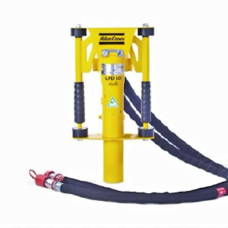 The Atlas Copco LPD LD T Hydraulic Post Driver