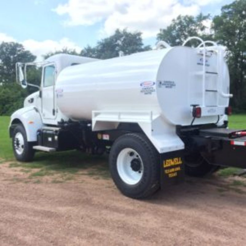 Ledwell F750 2,000 Gallon Water Trucks--Duke Equipment Rental
