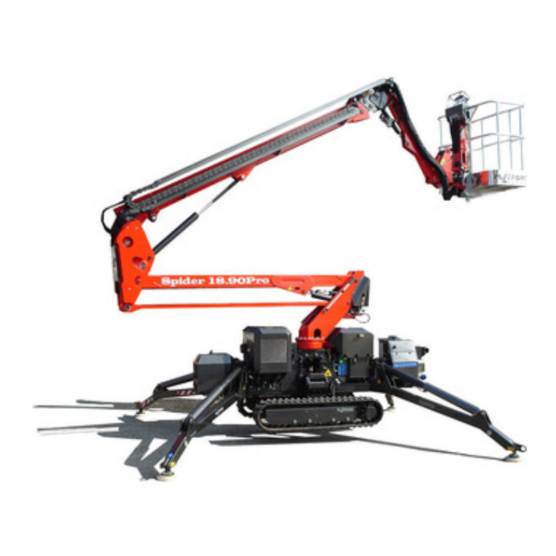 60 Foot Tracked Lift--Spider 18.90--Duke Equipment Rental