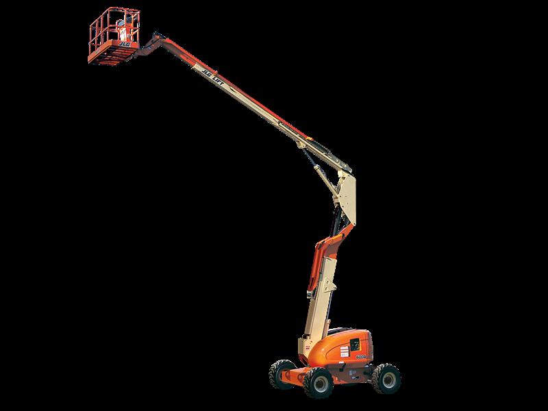 JLG 600A articulating boom lift