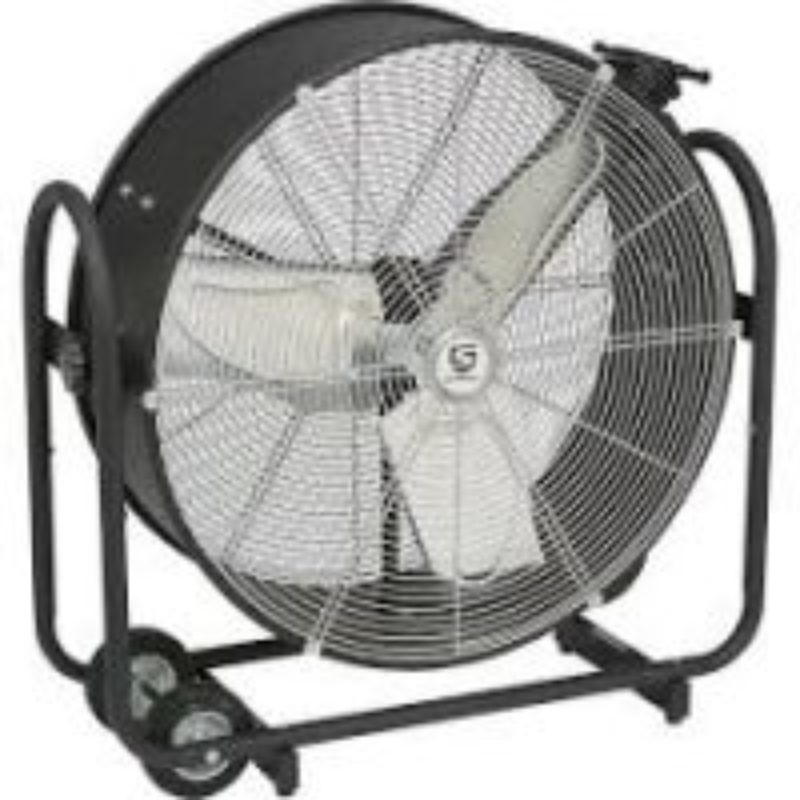 Strongway Tilting Direct Drive Drum Fan 24in., 8000 CFM, 1/8 HP--The Duke Company Rochester