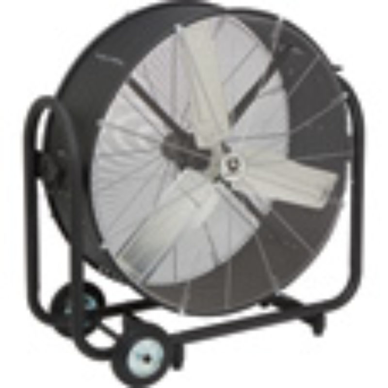 Strongway Tilting Direct Drive Drum Fans 36in., 9600 CFM, 1/3 HP