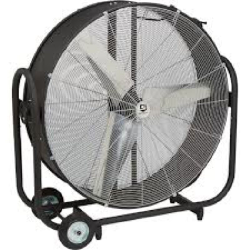 Strongway Tilting Direct Drive Drum Fans 42in., 16,500 CFM, 1/2 HP -- Duke Company Rochester NY