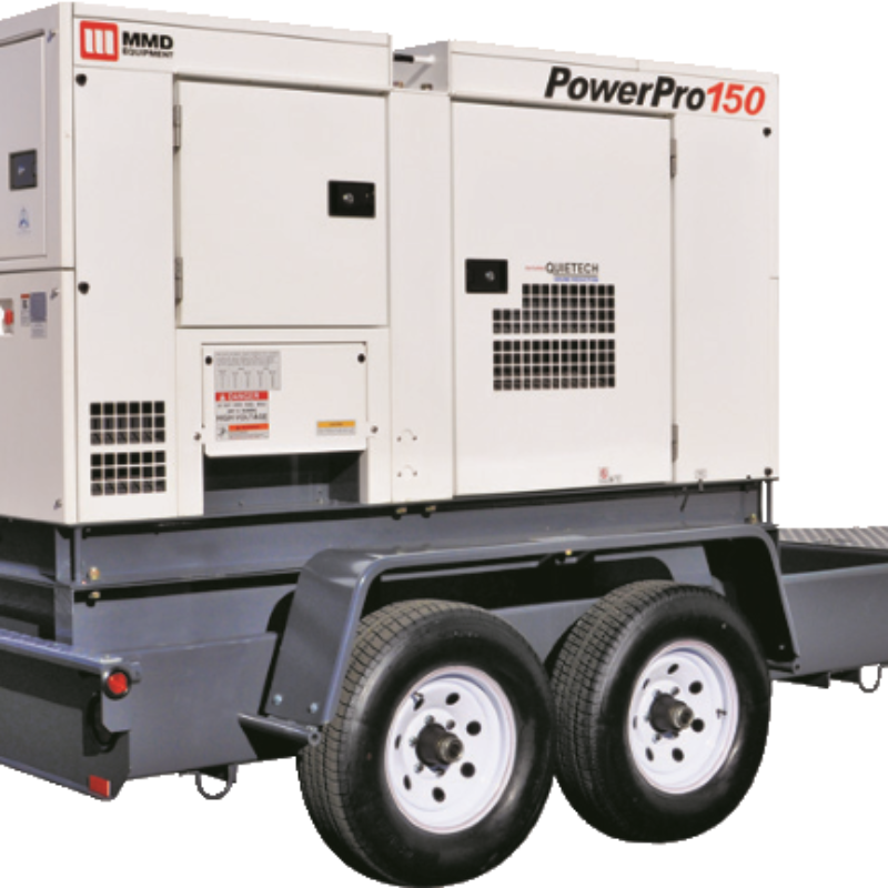 150kVA Towable Generator Rental - MMD PowerPro 150