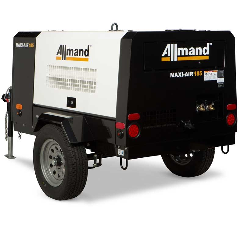 185 CFM Air Compressor Rental - Allmand MA 185