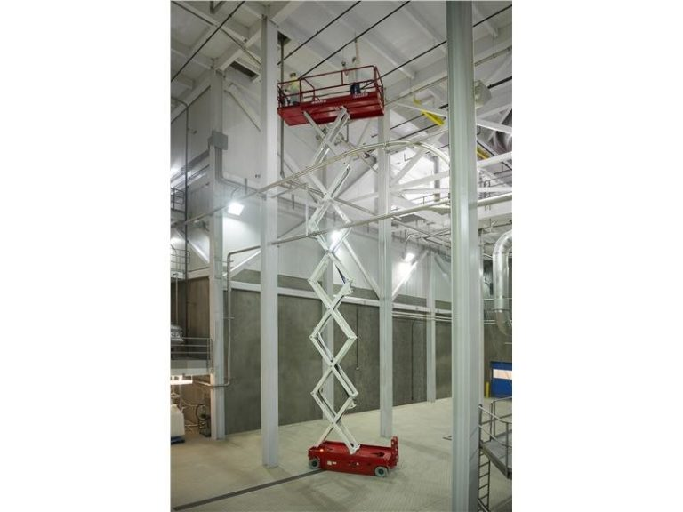 45 Foot Electric Scissor Lift Rental in Upstate NY from the Duke Company