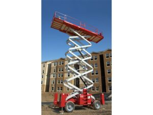 Rent a 66 Foot Electric Scissor Lift from the Duke Company in Upstate NY